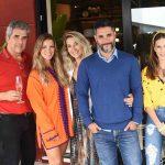 Fran Abreu, Aline Araujo, Carol Freitas, Fabio Bouillet e Anny Meisler