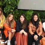 Patricia Netto, Aline Araujo, Paloma Danemberg, Yasmin Monnerat e Mayene Precioso
