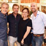 Pedro Guimarães, Nando Grabowsky, Patricia Quentel e Stefan Ganglberger