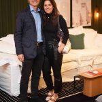 Ricardo Licht e Angela Hall