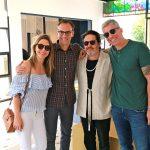 Anne Lottermann, Fernando Costa, Celso Rayol e Wan RouxinolI