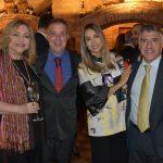 Bernadete Simonelli, Bayard Boiteux, o consul argentino Claudio Gutierrez e senhora Raquel Chaparro