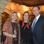 Bernadete Simonelli com a Consul do Canada Evelyne Coulombe e Craig Graham