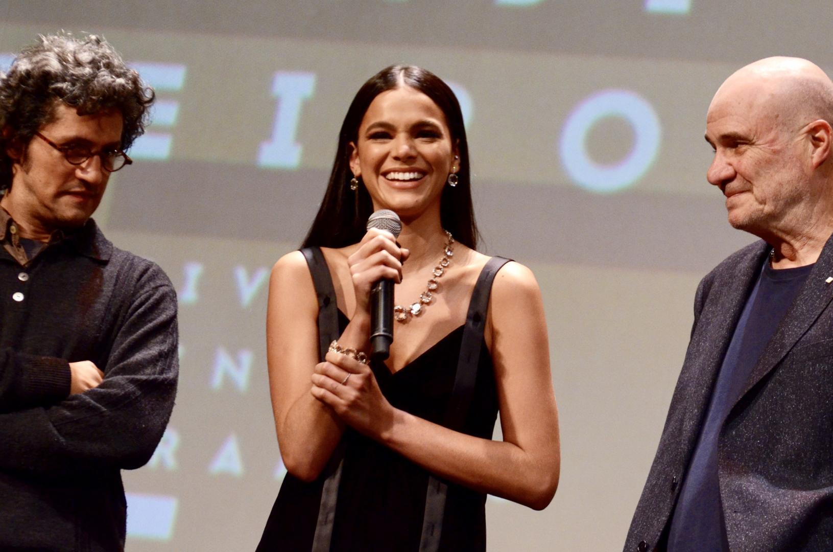 Bruna Marquezine e Lázaro Ramos no 47º Festival de Cinema de Gramado 2019