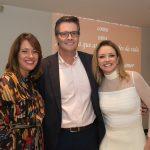 Cândida, Carlos Frederico e Maria Laura Bingemer