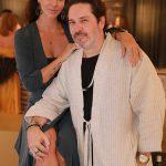 Celson Rayol e namorada Carol VazI