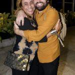 Cissa Guimarães e e Gregório