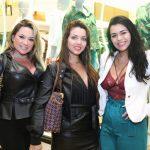 Cristiane Pessoa, Rayssa Mayrinck e Renata Monteiro