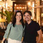 Cristina Cortes e Ricardo Melo