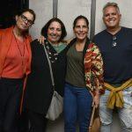 Alexia Dechamps, Alice Borges, Glória Pires e Orlando Morais