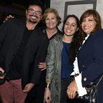 Jero, Claudia Alves, Claudia Mauro e Isadora Ribeiro