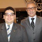 Desembargador Flávio Horta com o Presidente do Vasco Alexandre Campello