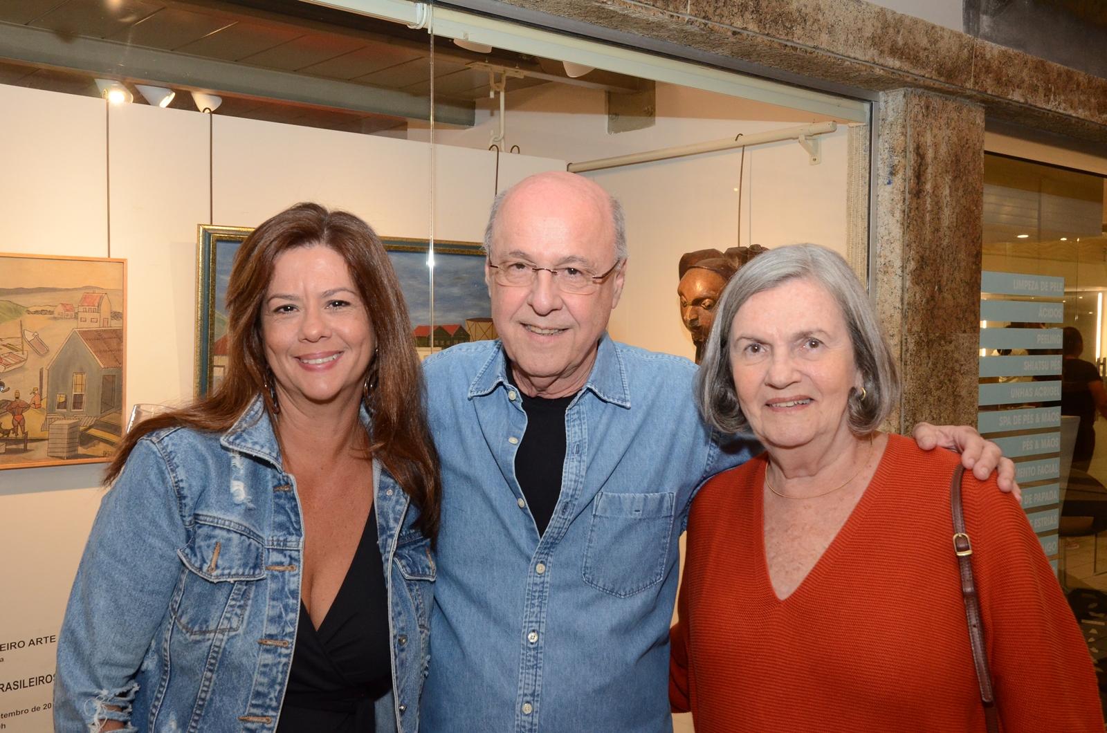 """Galeria Evandro Carneiro Arte recebe a exposição """"Nossos Naifs Brasileiros"""""""