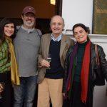 Gisela Zincone, Alcio Braz, Arnon Elkind e Lilian Fontes