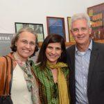 Gisela Zincone entre Lúcia e Roberto Riff