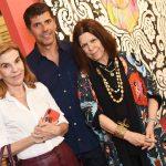 Henriqueta Gomes, João Ricardo Coelho e Vanda Klabin
