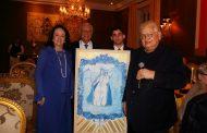 Beth e Carlos Alberto Serpa recebem amigos na Semana de Nossa Senhora da Glória do Outeiro