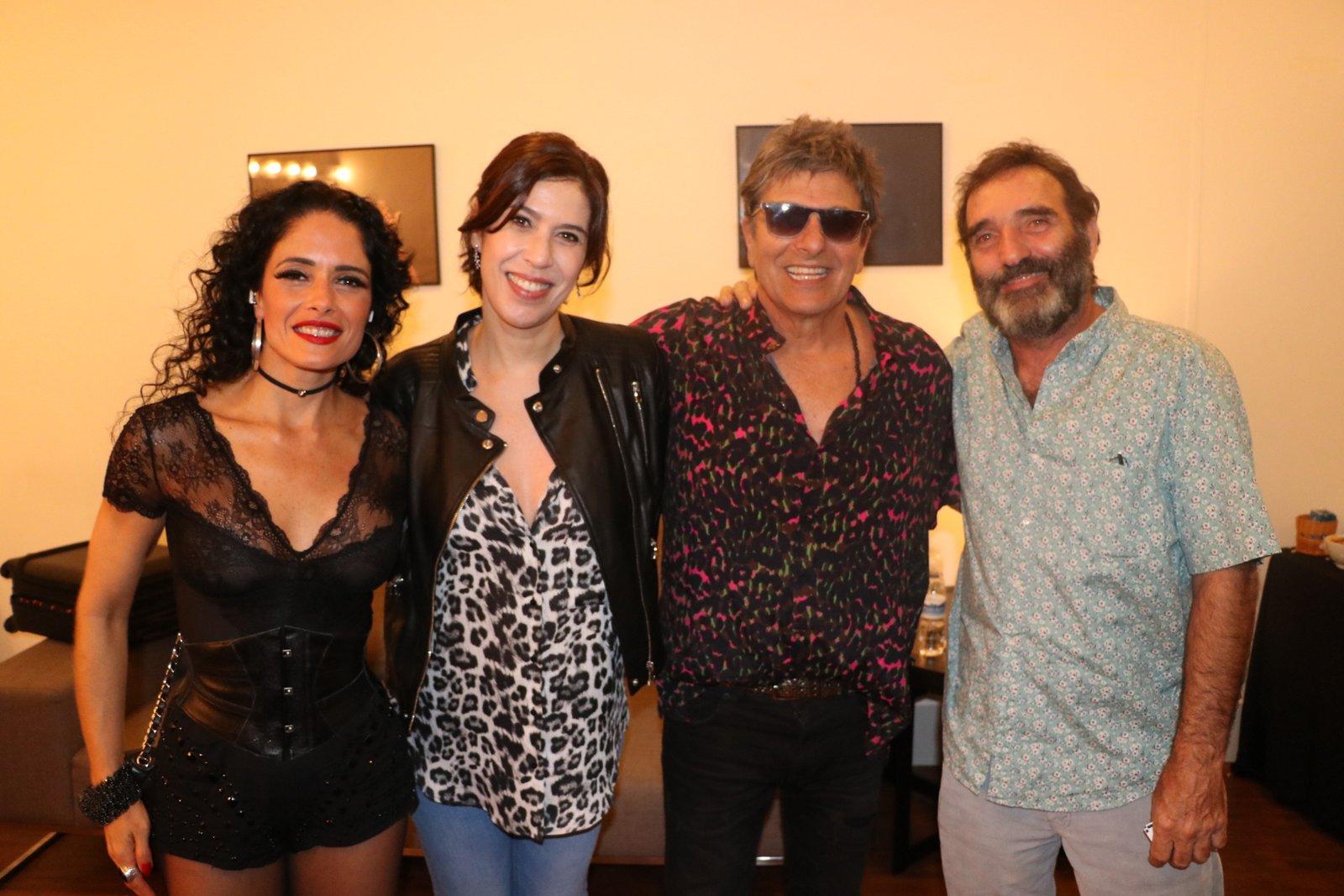 Famosos assistem show da Blitz no Rio