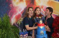 Mario Frias e a esposa Juliana Frias realizam festa de aniversario para a filha Laura