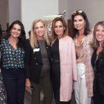 Isabela Rabello, Katia Amon, Rebeca Rocha, Georgia Buffara, Cristine Ferracciu e Vanessa Reis de Carvalho