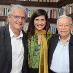 Jorge Salomão, Gisela Zincone e Wilson Figueiredo