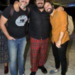 Lúcio Zandonadi, Gregório Duvivier e Luís Lobianco