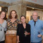 Laura Carneiro, Jacqueline Filkenstein, Claudia Ferreira e Evandro Carneiro