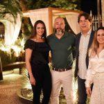 Luciana Placido, Sandro Ward, Roberto Borges e Monica Borges
