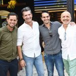 Luis Guedes, Junior Grego, Luis Felipe Meca e Ronald Goulart