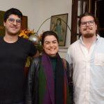 Luiz Gustavo Neive, Lilian Fontes e Bernardo Souza e Silva