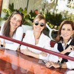 Manuele Colas, Patricia Marinho e Ana Luiza Rothier