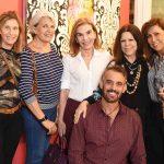 Marcia Lebelson, Itala Reis, Henriqueta Gomes, Vanda Klabin, Anna Luiza Rothier e Walter Goldfarb
