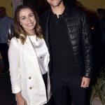 O casal Gleice e Kalebi Vieira