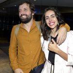 O casal Gregório Duvivier e Giovanna Nader