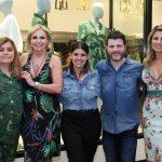 Regina Ximenes, Nina Kauffmann, Marcelle Ximenes, Bruno Wagner e Ana Paula Barbosa