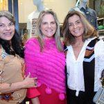 Rosemary Adario, Maninha Barbosa e Claudia Bueri