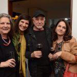 Valéria Naslausky, Gisela Zincone, Jair de Souza e Monica Mayer