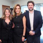 Vanessa Reis de Carvalho, Georgia Buffara e Dr. João Manoel