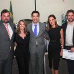 Vitor Moreira, Vanessa Reis de Carvalho, Humberto Mota Filho, Georgia Buffara e Dr.João Manoel