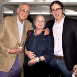 Zuenir e Mary Ventura e Geraldinho Carneiro
