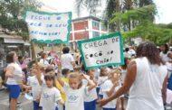 Escola em Laranjeiras dá exemplo de Cidadania com a campanha Xô Cocô