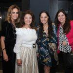Georgia Buffara, Monica Isaksen, Claudia Mauro e Cintia Leite