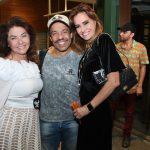 Monica Isaksen, Edio Nunes e Georgia Buffara