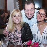 Verilene Leite, Bruno Canellas e Larissa Rodrigues