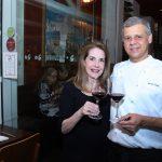 Nelma Canellas e o Chef Ronaldo Canha