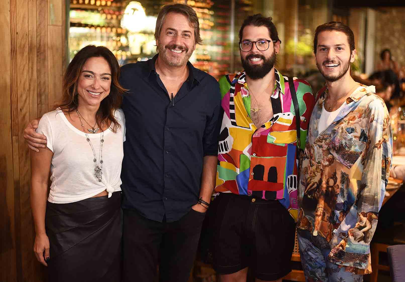 Breton reúne convidados em tarde de preview da ArtRio