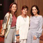 Carolina Calmon, Margarida Vianna e Antonia Leite Barbosa