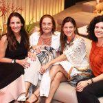 Laura Paes, Zelia Fernandes, Patricia Salamonde e Bibiana Macedo