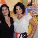 Ana Claudia Vicente e Carolina Muzzio