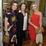 Andrea Niskier, Gilda Milman e Manoela Ferrari